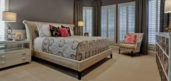 bedroom decorating ideas and designs Remodels Photos Elaine Williamson Designs Dallas Texas United States contemporary-bedroom