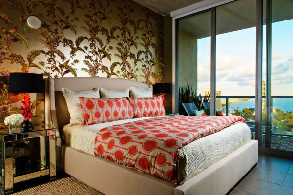bedroom decorating ideas and designs Remodels Photos Errez Design Inc Miami Florida United States eclectic-bedroom