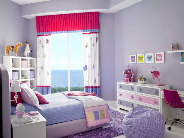 bedroom decorating ideas and designs Remodels Photos Fede Design LLC Miami  Florida United States traditional-kids-001