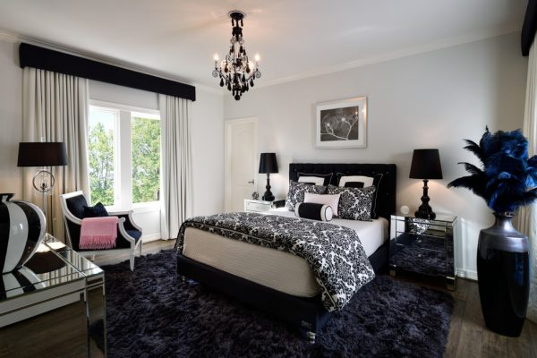 bedroom decorating ideas and designs Remodels Photos Fede Design LLC Miami Florida United States transitional-002