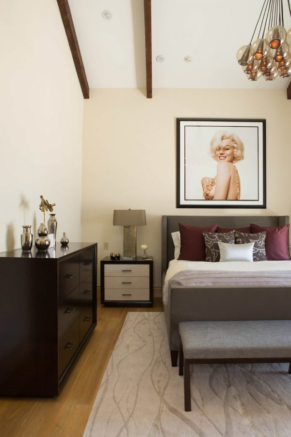 bedroom decorating ideas and designs Remodels Photos Federico Design Long Beach California United States contemporary-001