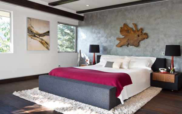 bedroom decorating ideas and designs Remodels Photos Federico Design Long Beach California United States contemporary-bedroom