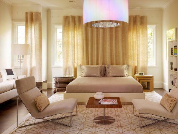 bedroom decorating ideas and designs Remodels Photos Gary Hutton Design San Francisco California United States contemporary-bedroom