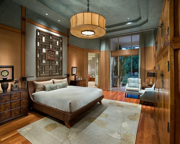 bedroom decorating ideas and designs Remodels Photos IMI Design, LLC Scottsdale Arizona United States asian-bedroom