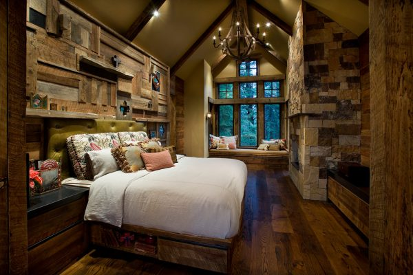 bedroom decorating ideas and designs Remodels Photos IMI Design, LLC Scottsdale Arizona United States rustic-bedroom
