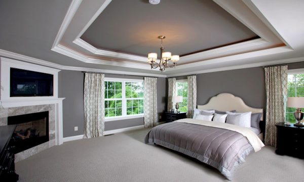 bedroom decorating ideas and designs Remodels Photos Instyle Interiors Lewis Center Ohio United States contemporary-bedroom