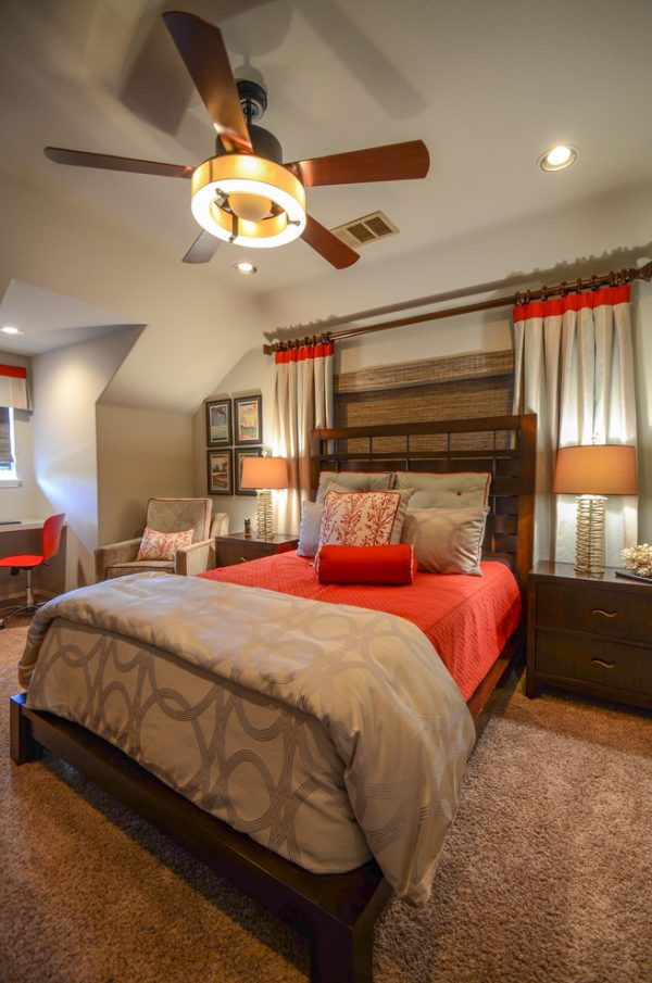 bedroom decorating ideas and designs Remodels Photos Interior Selections Austin Ranch Road Austin United States contemporary-bedroom