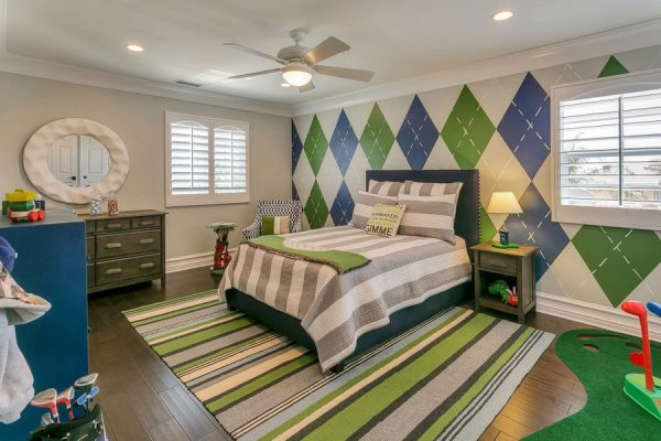 bedroom decorating ideas and designs Remodels Photos Jami Abbadessa La Verne California United States transitional-kids