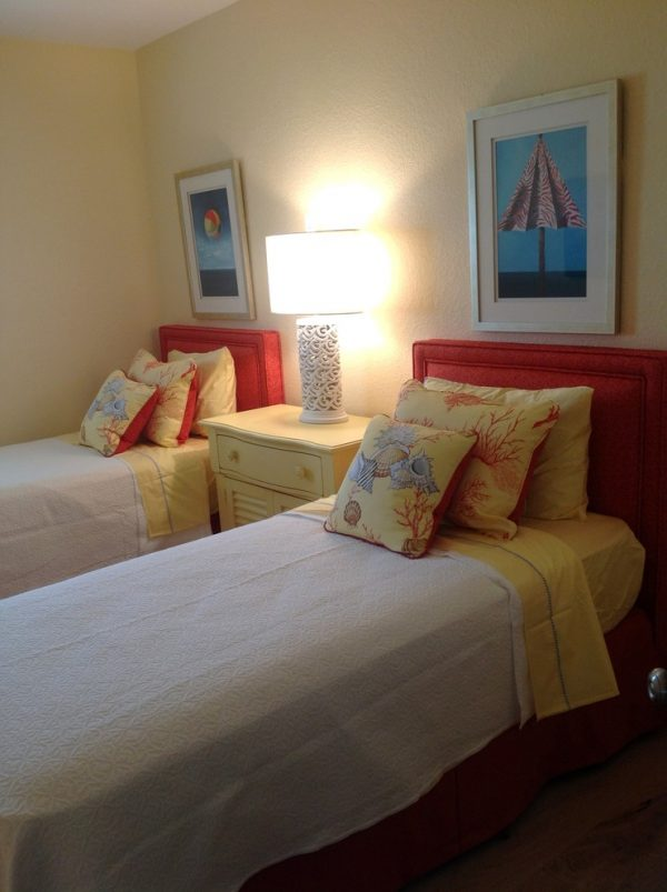 bedroom decorating ideas and designs Remodels Photos Joann's Interiors St Pete Beach Florida United States beach-style-bedroom-001