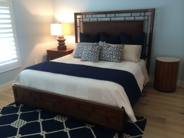 bedroom decorating ideas and designs Remodels Photos Joann's Interiors St Pete Beach Florida United States beach-style-bedroom-002
