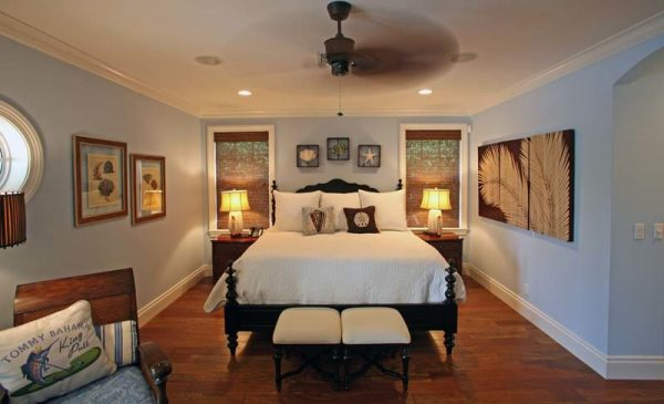 bedroom decorating ideas and designs Remodels Photos Joann's Interiors St Pete Beach Florida United States beach-style-bedroom-003