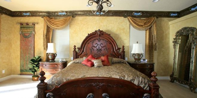 bedroom decorating ideas and designs Remodels Photos Joann's Interiors St Pete Beach Florida United States traditional-bedroom-002