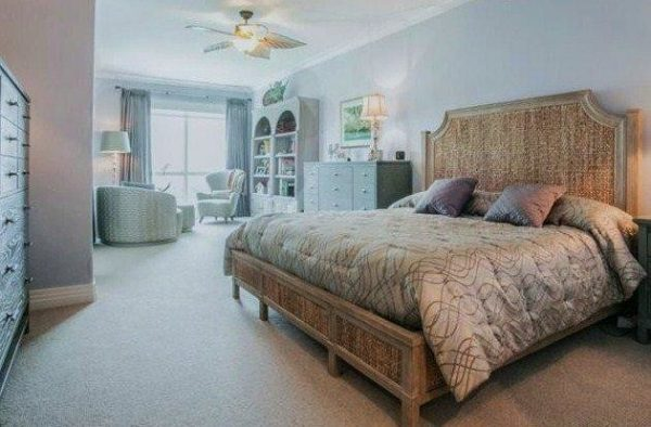 bedroom decorating ideas and designs Remodels Photos Joann's Interiors St Pete Beach Florida United States transitional-bedroom