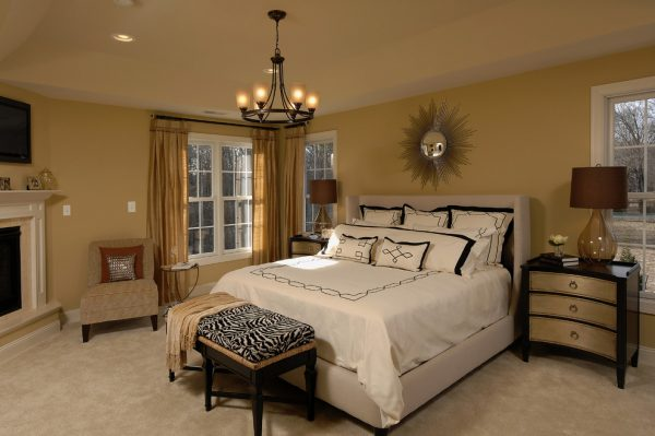bedroom decorating ideas and designs Remodels Photos Karen Renee Interior Design Severna Park Maryland United States contemporary-bedroom-001