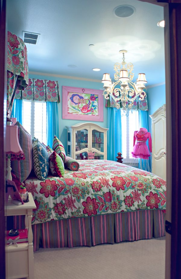 bedroom decorating ideas and designs Remodels Photos Karyn Dismore Interiors Frisco Texas United States eclectic-kids-001
