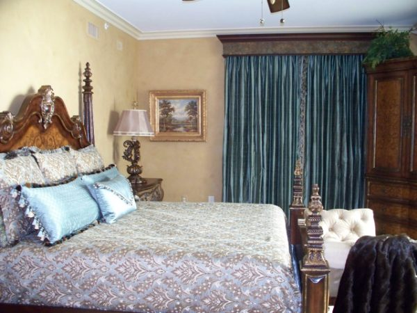 bedroom decorating ideas and designs Remodels Photos Legacy Interiors North Myrtle Beach South Carolina United States mediterranean-bedroom