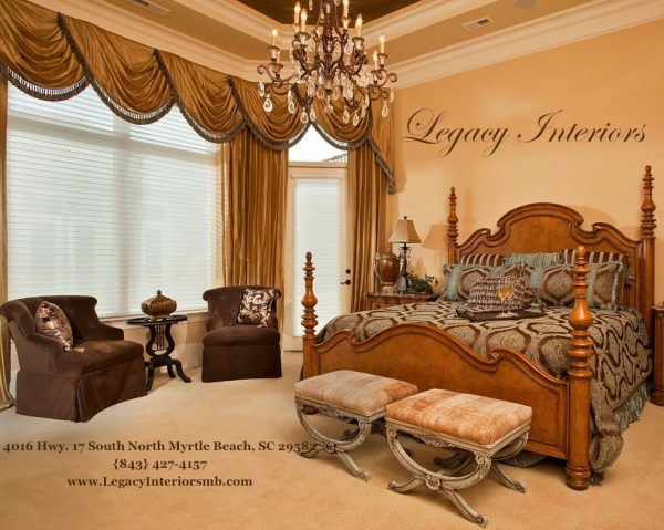 bedroom decorating ideas and designs Remodels Photos Legacy Interiors North Myrtle Beach South Carolina United States traditional-bedroom-001