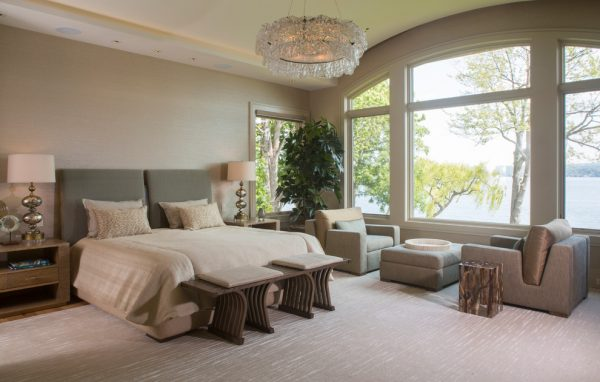 bedroom decorating ideas and designs Remodels Photos Leighton Design Group Rochester New York United States transitional-bedroom
