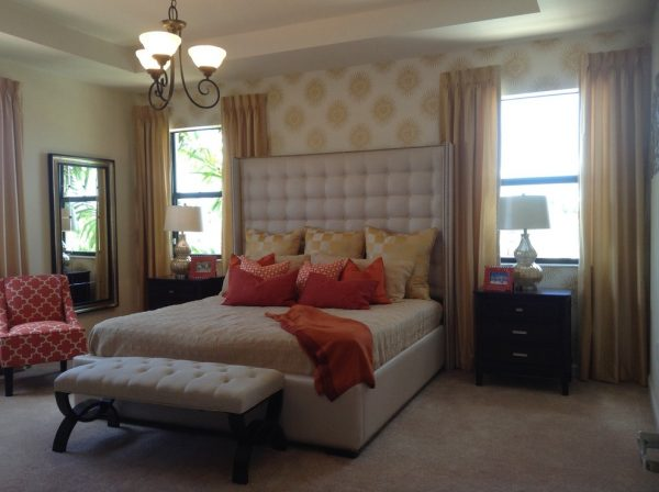 bedroom decorating ideas and designs Remodels Photos Lisa Aportela ASID sunny isles beach Florida United States transitional-bedroom-003
