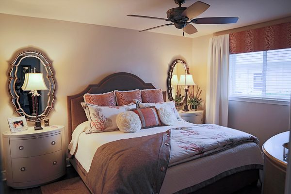 bedroom decorating ideas and designs Remodels Photos Lori Manning Designs Cape Cora Florida United States transitional-bedroom