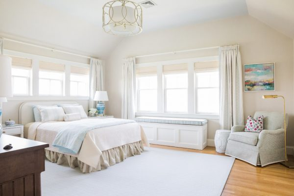 bedroom decorating ideas and designs Remodels Photos May Interiors Winchester Massachusetts United States beach-style-bedroom