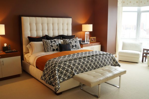 bedroom decorating ideas and designs Remodels Photos Michelle Wenitsky Interior Design Villanova Pennsylvania modern-bedroom-001