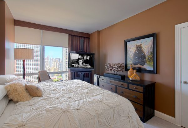 bedroom decorating ideas and designs Remodels Photos Michelle's Interiors Chicago Illinois United States contemporary-bedroom-001