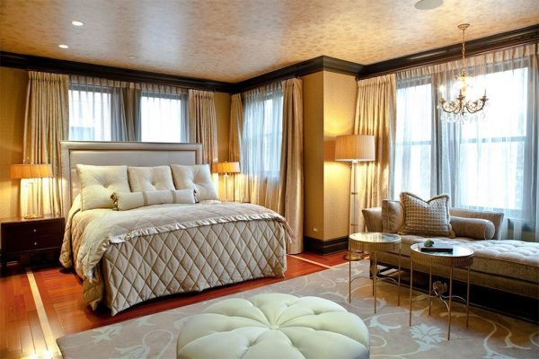 bedroom decorating ideas and designs Remodels Photos Michelle's Interiors Chicago Illinois United States transitional-bedroom