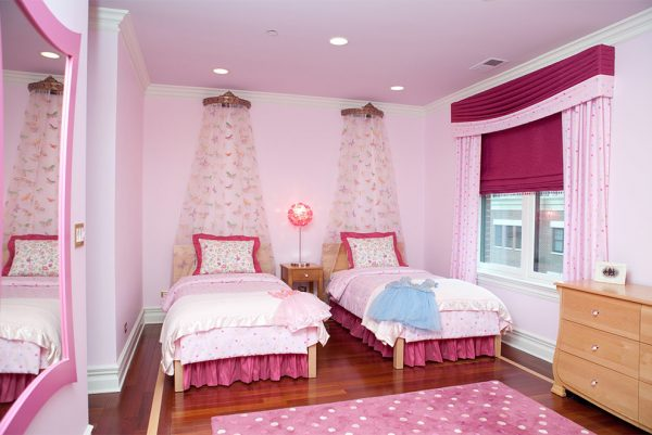 bedroom decorating ideas and designs Remodels Photos Michelle's Interiors Chicago Illinois United States transitional-kids-001