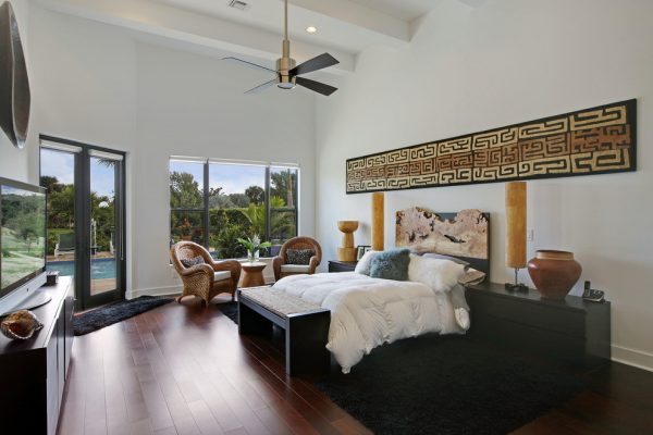 bedroom decorating ideas and designs Remodels Photos Petron Design, Inc Palm Beach Gardens Florida United States contemporary