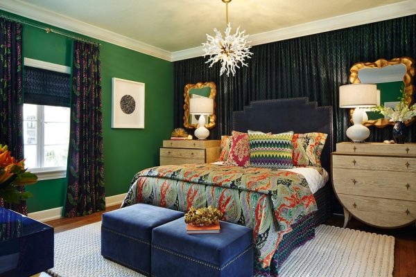 bedroom decorating ideas and designs Remodels Photos Piper Gonzalez Designs West Palm Beach Florida United States contemporary-bedroom