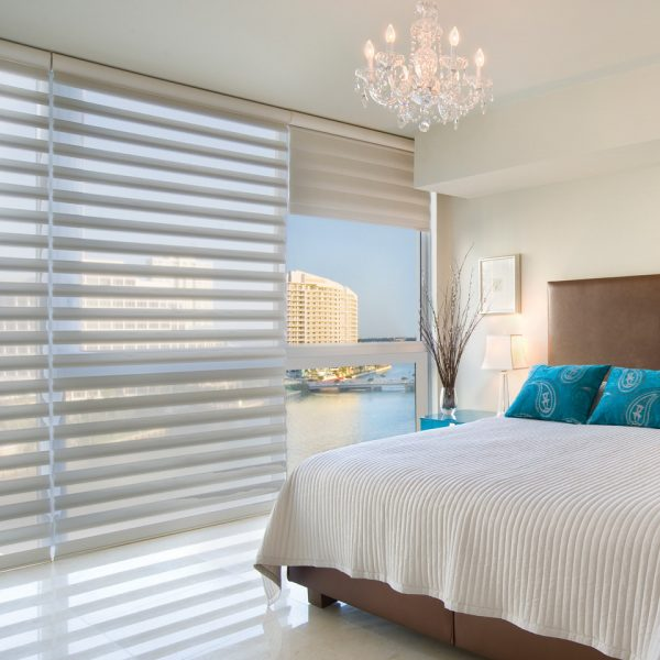 bedroom decorating ideas and designs Remodels Photos Piper Gonzalez Designs West Palm Beach Florida United States contemporary-window-treatments