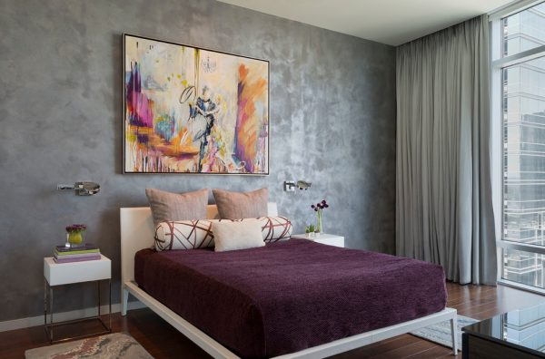 bedroom decorating ideas and designs Remodels Photos Robin Colton Studio Austin Texas United States contemporary-bedroom