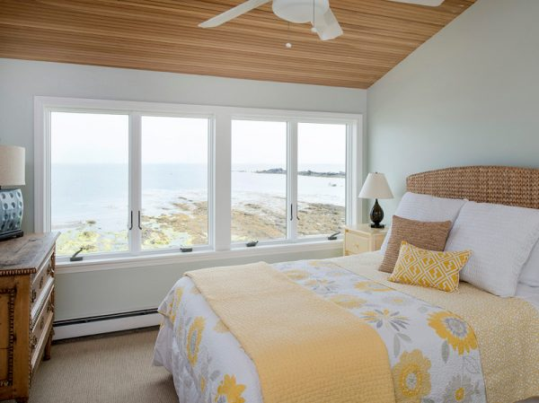 bedroom decorating ideas and designs Remodels Photos Spaces by LLG Cumberland Maine United States beach-style-bedroom