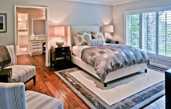 bedroom decorating ideas and designs Remodels Photos The Black Door Los Angeles California United States transitional-bedroom