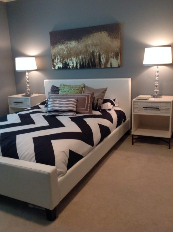 bedroom decorating ideas and designs Remodels Photos The Design Shoppe Tulsa Oklahoma United States contemporary-bedroom-002
