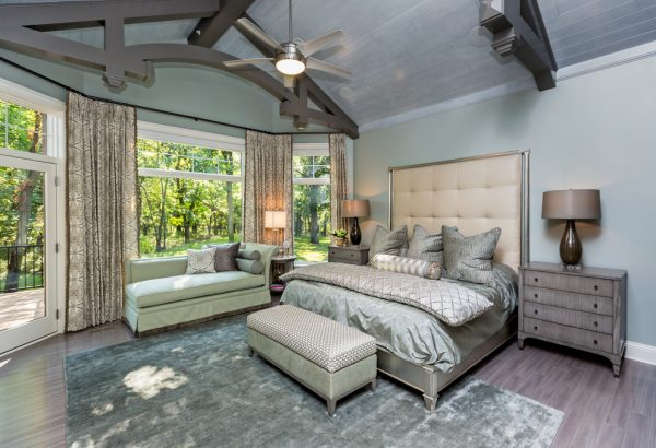 bedroom decorating ideas and designs Remodels Photos The Mansion Des Moines Iowa United States transitional-bedroom-016