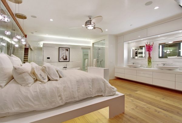 bedroom decorating ideas and designs Remodels Photos Ultra-Mod Home Concepts Corona Del Mar California United States contemporary-bedroom