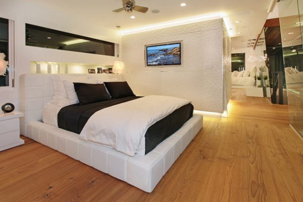 bedroom decorating ideas and designs Remodels Photos Ultra-Mod Home Concepts Corona Del Mar California United States modern-bedroom