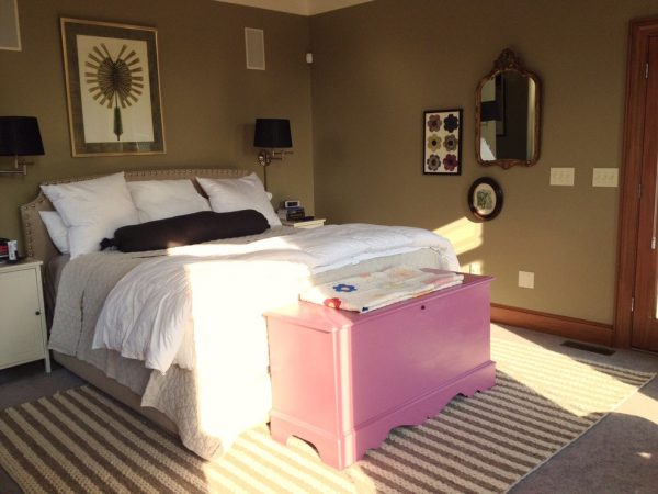 bedroom decorating ideas and designs Remodels Photos Wannemacher Interiors, LLC Columbus Ohio United States transitional-bedroom