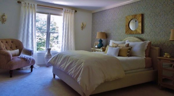 bedroom decorating ideas and designs Remodels Photos Welcome Home Interiors of NC Cary North Carolina United States transitional-bedroom