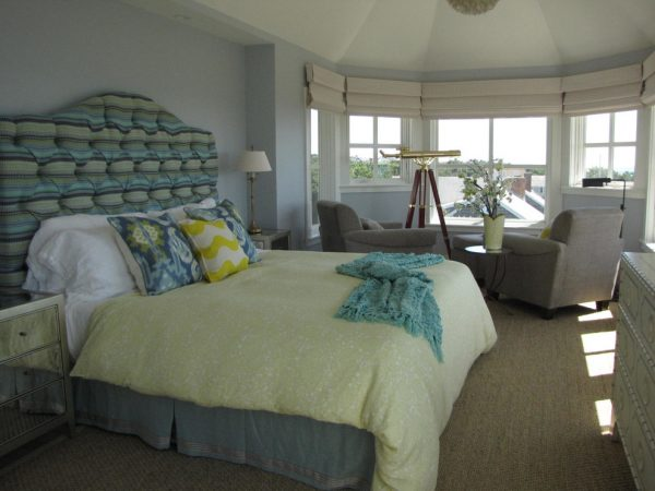bedroom decorating ideas designs Robin Pelissier Interior Design & Robin's Nest Hingham Massachusetts beach-style-bedroom-1