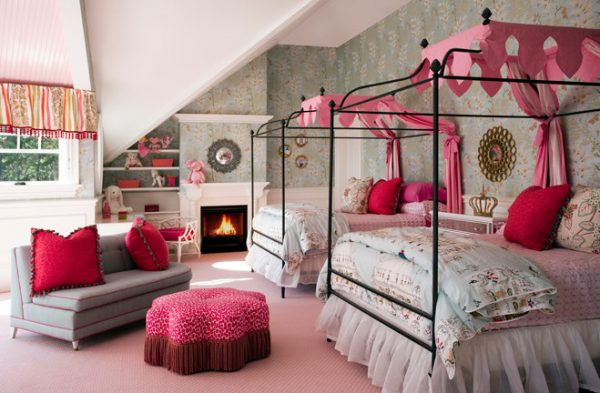 bedroom decorating ideas designs Robin Pelissier Interior Design & Robin's Nest  Hingham Massachusetts traditional-kids