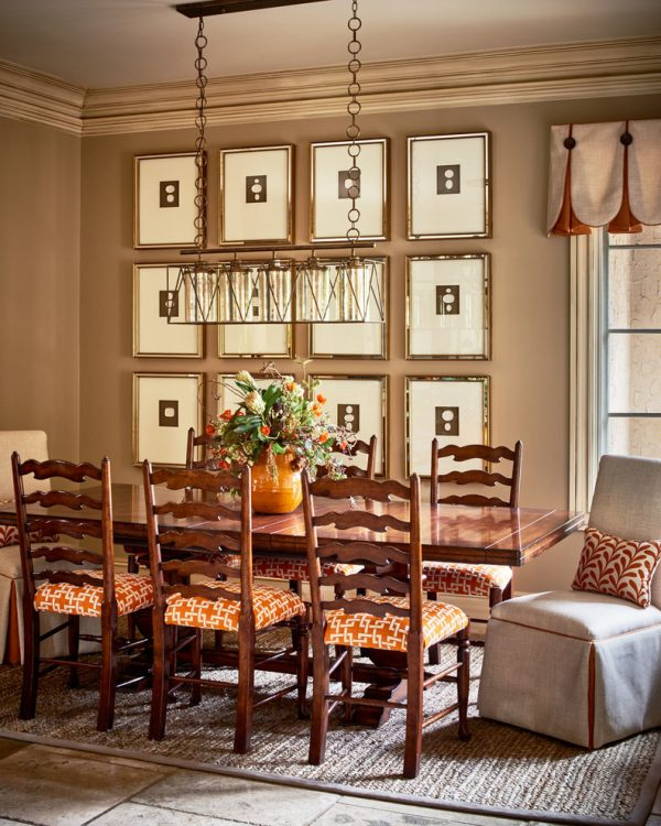 dining room decorating ideas and designs Remodels Photos Clark and Clark Interiors Charlotte North Carolina United States transitional-kitchen