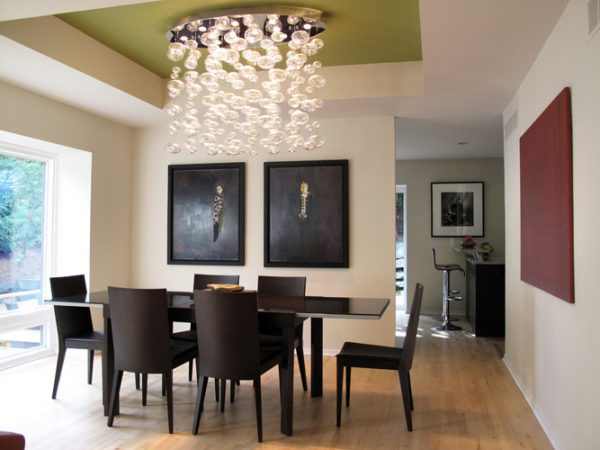 dining room decorating ideas and designs Remodels Photos studio tanya interior design Rochester Michigan contemporary-dining-room