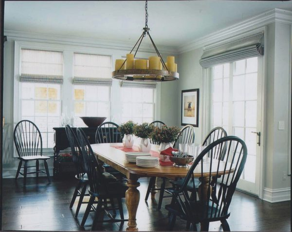 dining room decorating ideas and designs Remodels Photos studio tanya interior design Rochester Michigan traditional-dining-room-002
