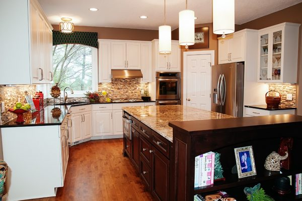 kitchen decorating ideas and designs Remodels Photos Decore Interiors LLC Rogers Arkansas United States transitional-kitchen
