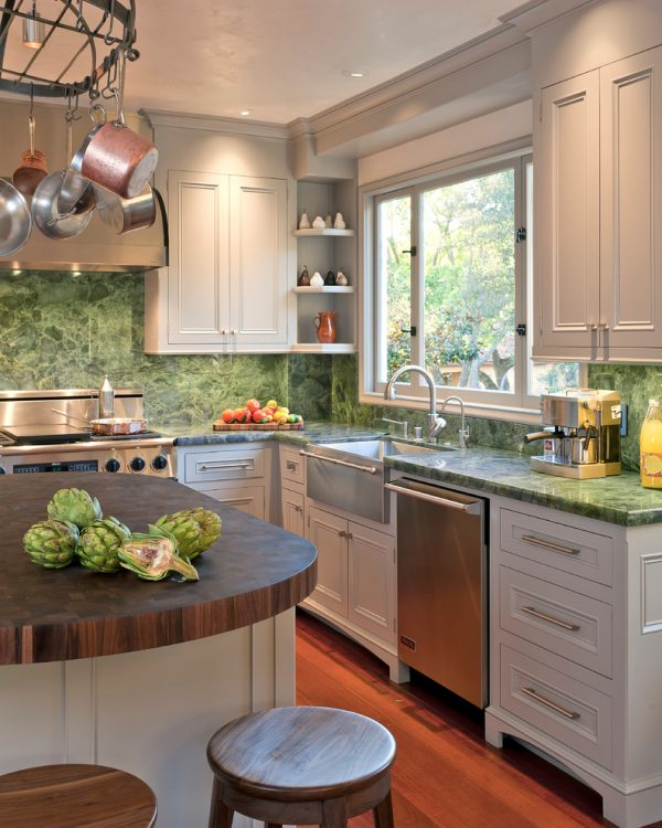 kitchen decorating ideas and designs Remodels Photos Fannie Allen Design Atherton California United States transitional-kitchen-001