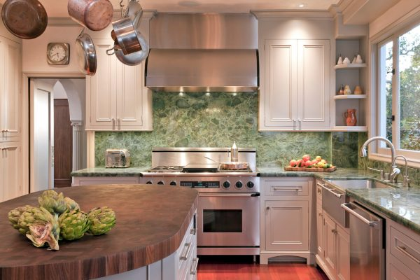 kitchen decorating ideas and designs Remodels Photos Fannie Allen Design Atherton California United States transitional-kitchen-002