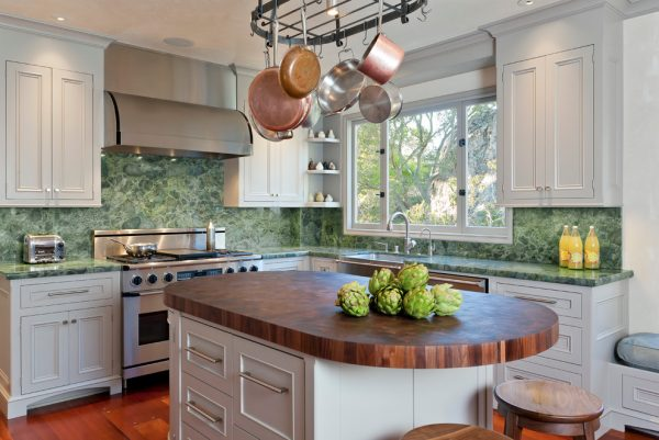 kitchen decorating ideas and designs Remodels Photos Fannie Allen Design Atherton California United States transitional-kitchen